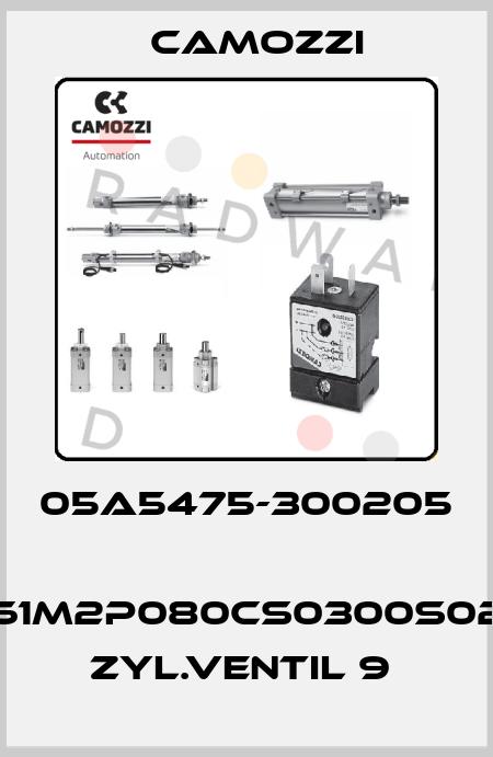 Camozzi-05A5475-300205  61M2P080CS0300S02 ZYL.VENTIL 9  price