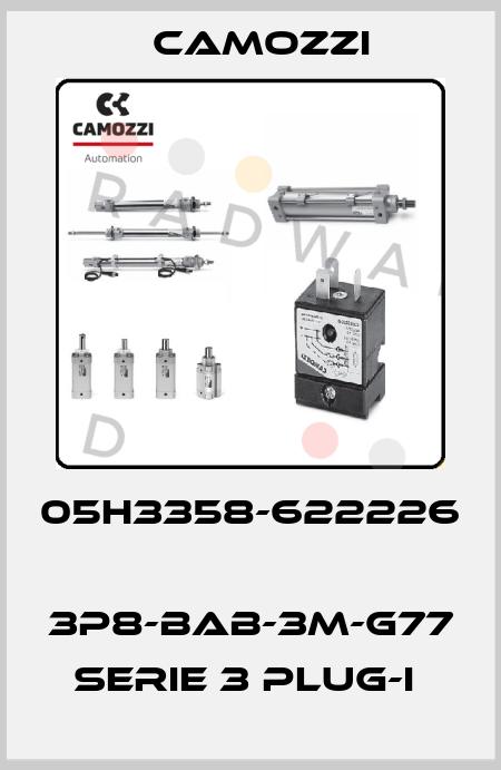 Camozzi-05H3358-622226  3P8-BAB-3M-G77  SERIE 3 PLUG-I  price