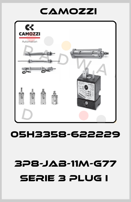 Camozzi-05H3358-622229  3P8-JAB-11M-G77 SERIE 3 PLUG I  price