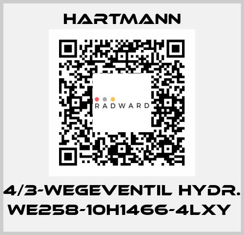 Hartmann-4/3-Wegeventil hydr. WE258-10H1466-4LXY  price