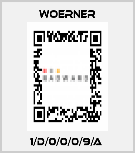 Woerner-1/D/0/0/0/9/A  price