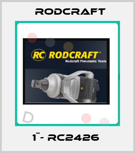 Rodcraft-1¨- RC2426  price