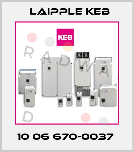 KEB-10 06 670-0037  price