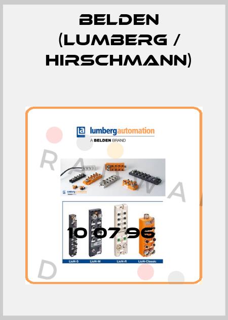 Lumberg (Belden)-10 07 96  price