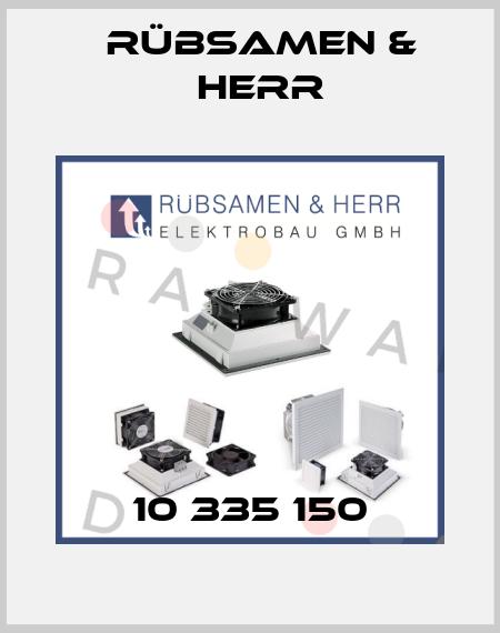 RÜBSAMEN & HERR-10 335 150  price