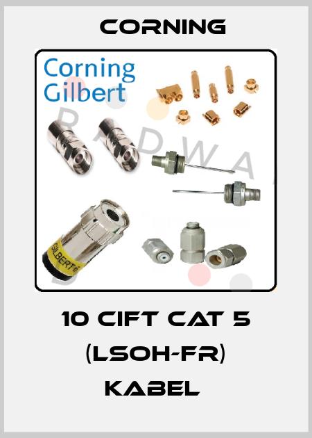 Corning-10 CIFT CAT 5 (LSOH-FR) KABEL  price