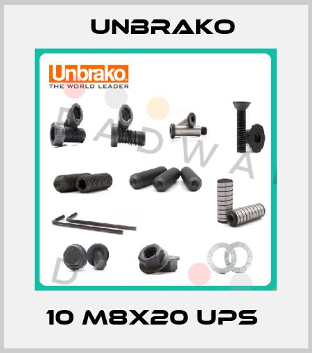 Unbrako-10 M8X20 UPS  price