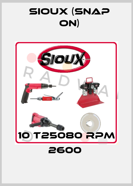 Sioux (Snap On)-10 T25080 RPM 2600  price