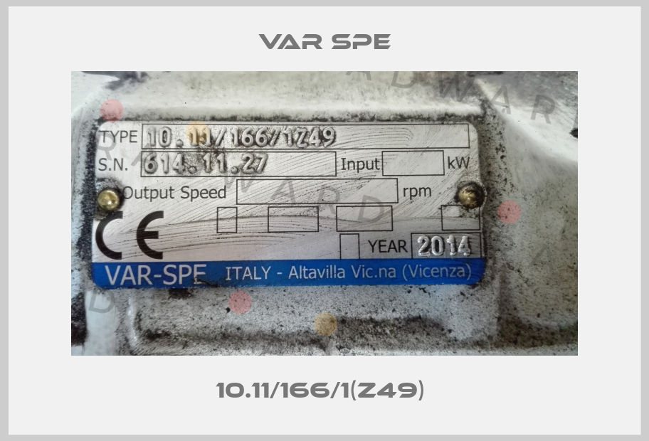 Var Spe-10.11/166/1(Z49)  price