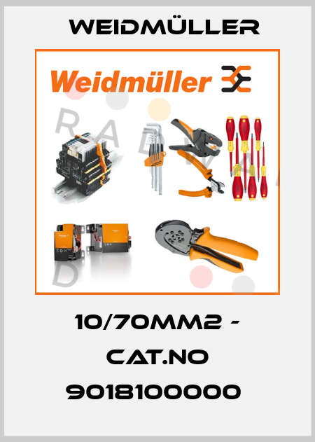 Weidmüller-10/70MM2 - CAT.NO 9018100000  price