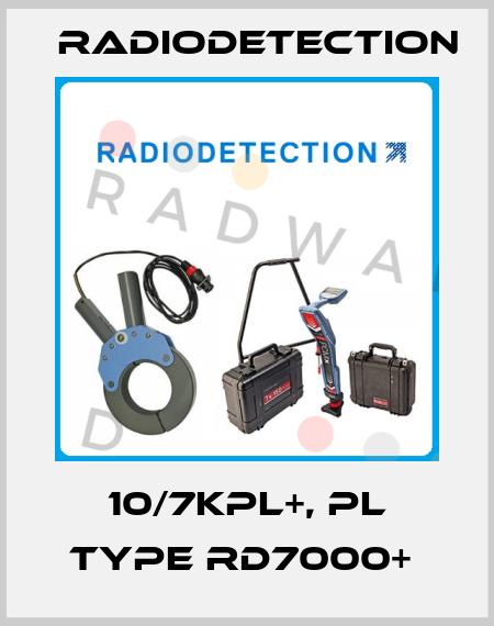 Radiodetection-10/7KPL+, PL type RD7000+  price