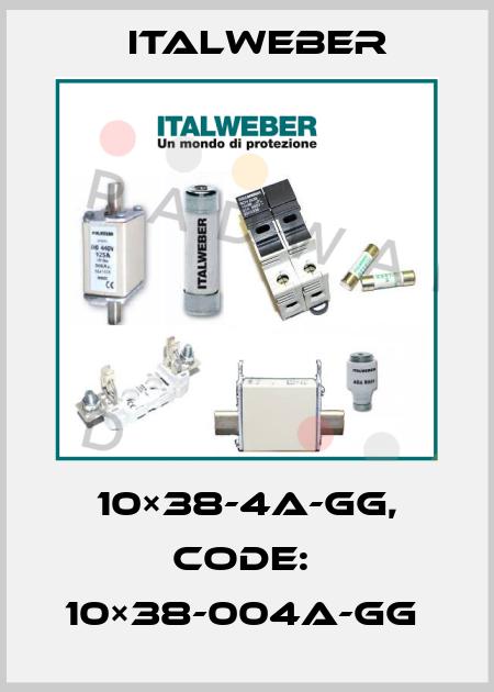 Italweber-10×38-4A-GG, CODE:  10×38-004A-GG  price