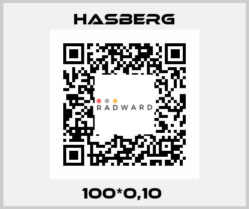 Hasberg-100*0,10  price