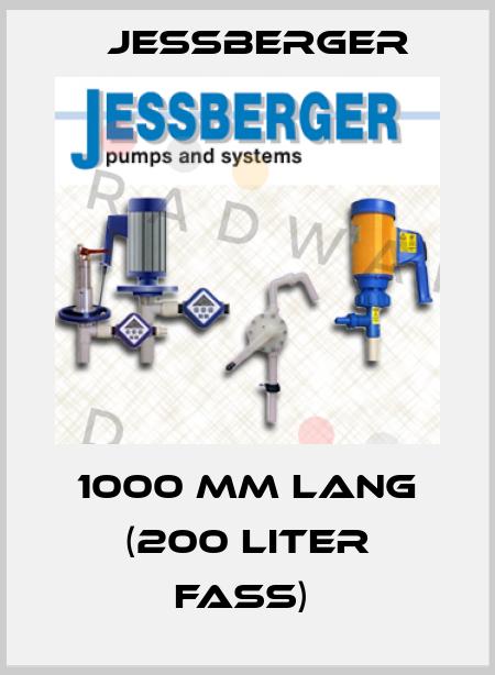 Jessberger-1000 MM LANG (200 LITER FASS)  price