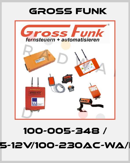 Gross Funk-100-005-348  LA15-12V/100-230AC-WA/EU-I  price