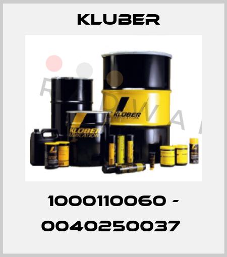 Kluber-1000110060 - 0040250037  price