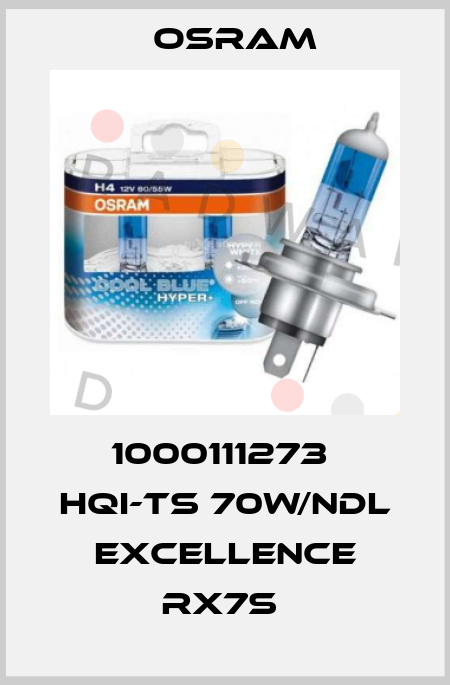 Osram-1000111273  HQI-TS 70W/NDL EXCELLENCE RX7S  price