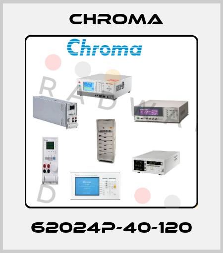 Chroma-10001164 / 62024P-40-120  price