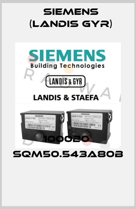 Siemens (Landis Gyr)-100020  SQM50.543A80B  price