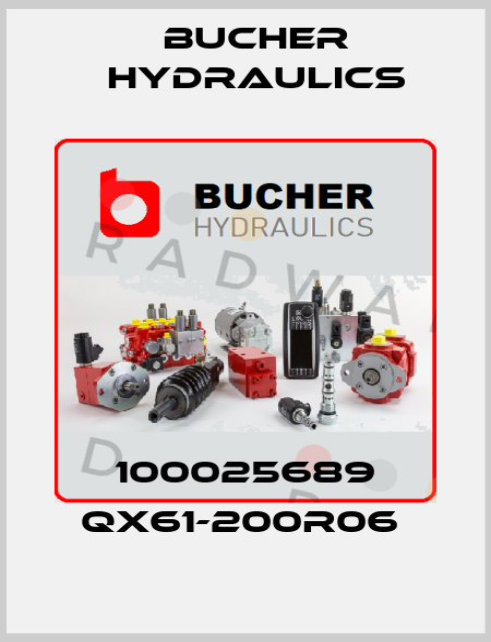 Bucher Hydraulics-100025689 QX61-200R06  price