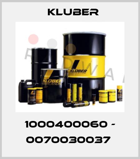 Kluber-1000400060 - 0070030037  price