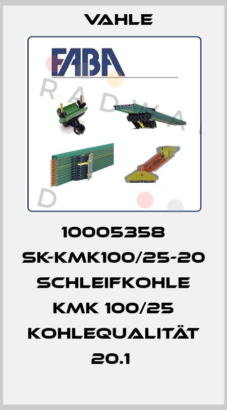 Vahle-10005358 SK-KMK100/25-20 SCHLEIFKOHLE KMK 100/25 KOHLEQUALITÄT 20.1  price