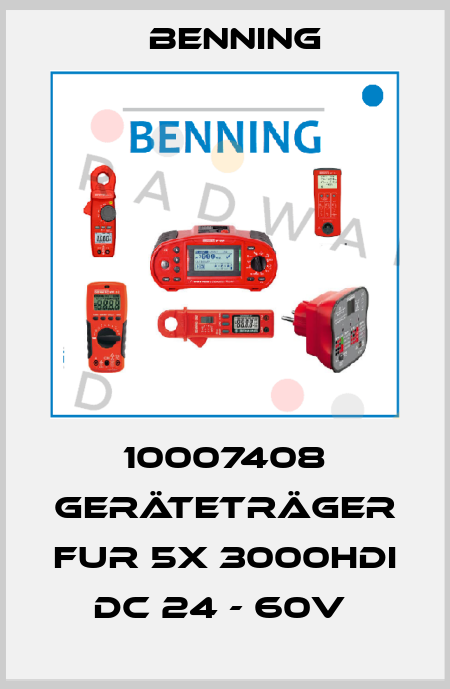 Benning-10007408 GERÄTETRÄGER FUR 5X 3000HDI DC 24 - 60V  price
