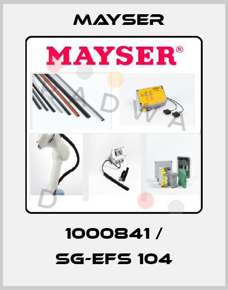 Mayser-1000841 / SG-EFS 104  price