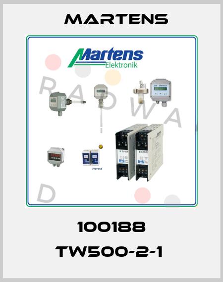 Martens-100188 TW500-2-1  price