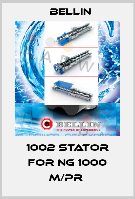 BELLIN-1002 STATOR FOR NG 1000 M/PR  price