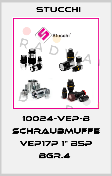 "Stucchi-10024-VEP-B SCHRAUBMUFFE VEP17P 1"" BSP BGR.4  price"