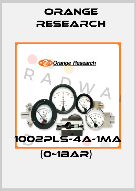 Orange Research-1002PLS-4A-1MA (0~1BAR)  price