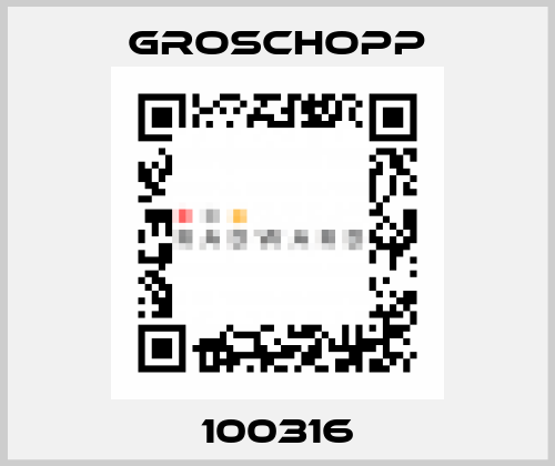 Groschopp-100316 price