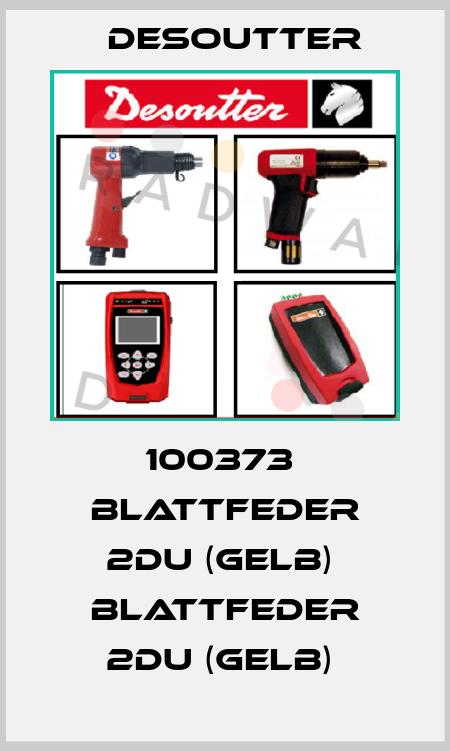 Desoutter-100373  BLATTFEDER 2DU (GELB)  BLATTFEDER 2DU (GELB)  price