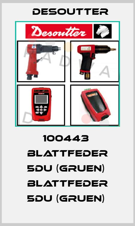 Desoutter-100443  BLATTFEDER 5DU (GRUEN)  BLATTFEDER 5DU (GRUEN)  price