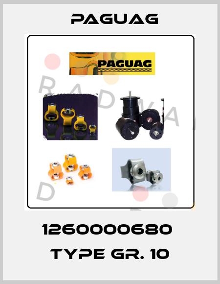Paguag-1260000680  type Gr. 10 price