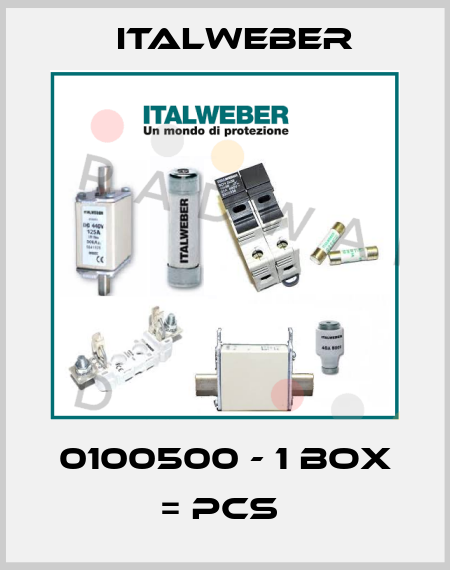 Italweber-0100500 - 1 box = pcs  price