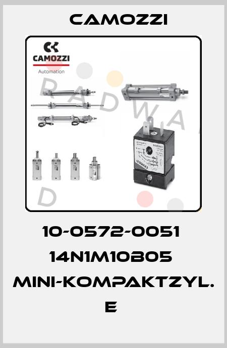 Camozzi-10-0572-0051  14N1M10B05  MINI-KOMPAKTZYL. E  price