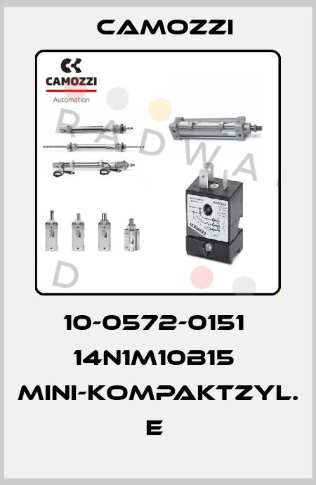 Camozzi-10-0572-0151  14N1M10B15  MINI-KOMPAKTZYL. E  price