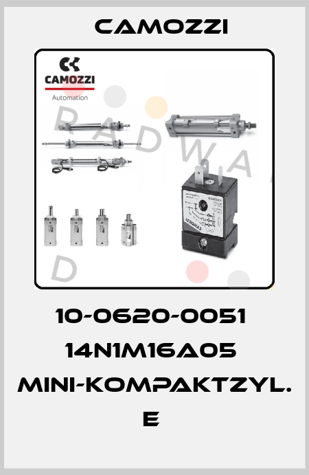 Camozzi-10-0620-0051  14N1M16A05  MINI-KOMPAKTZYL. E  price