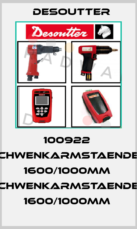 Desoutter-100922  SCHWENKARMSTAENDER 1600/1000MM  SCHWENKARMSTAENDER 1600/1000MM  price