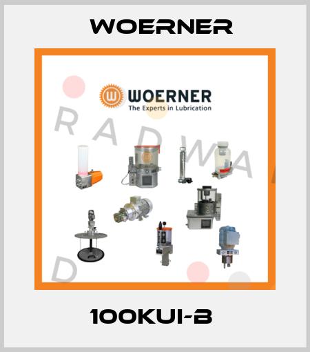 Woerner-100KUI-B  price