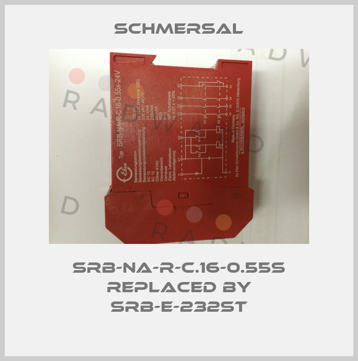 Schmersal-SRB-NA-R-C.16-0.55S replaced by SRB-E-232ST price