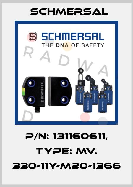Schmersal-101160611 MV. 330-11Y-1366  price