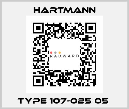 Hartmann-Type 107-025 05  price