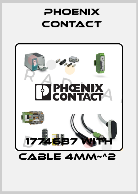 Phoenix Contact-1774687 with cable 4mm~^2  price