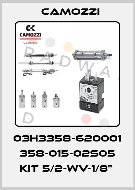 """Camozzi-03H3358-620001  358-015-02S05 KIT 5/2-WV-1/8""""  price"""